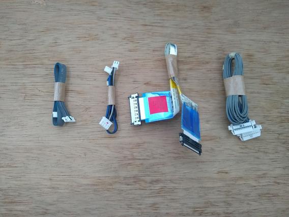 (093) Kit Cabo & Fita Flat Para Tv Led Lg Mod: 32lb5600