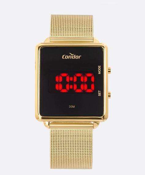 Relógio Feminino Digital Led Condor Cojhs31baa4x