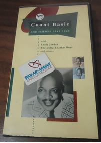 Count Basie And Friends 1943-1945 Vhs Take Me Back Baby
