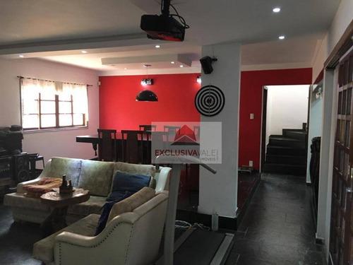 Casa Com 4 Dormitórios À Venda, 220 M² Por R$ 590.000,00 - Jardim Das Indústrias - São José Dos Campos/sp - Ca1043