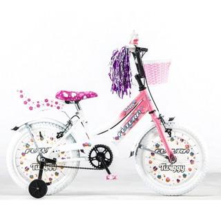 Bicicleta Rodado 16 Nena Futura Con Canasto 4045