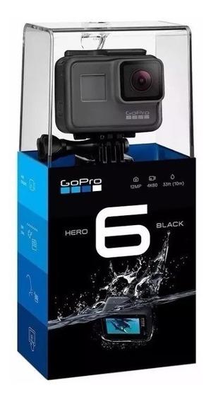 Gopro Hero 6 Black 100% Original, Com Acessorios Na Caixa #