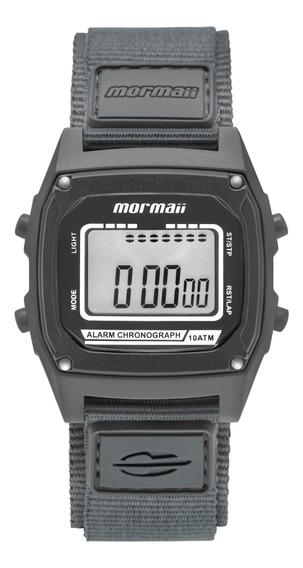 Relógio Mormaii Unissex Cinza Quadrado - Mon28ab/8c