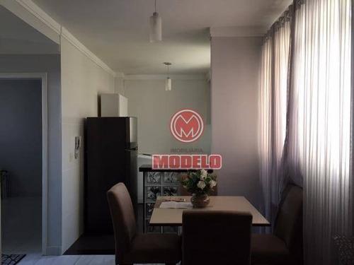 Apartamento À Venda, 47 M² Por R$ 140.000,00 - Jardim São Francisco - Piracicaba/sp - Ap2960