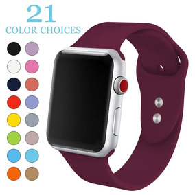 Pulseiras Sport Silicone Apple Watch