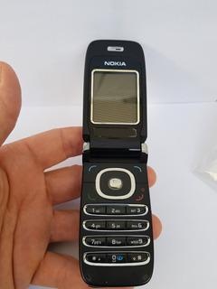 Celular Nokia Flip 6060 Desbloqueado Usado Com Marcas Leia