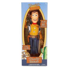 Toy Story, Boneco Falante Xerife Woody, 40cm, Disney Store