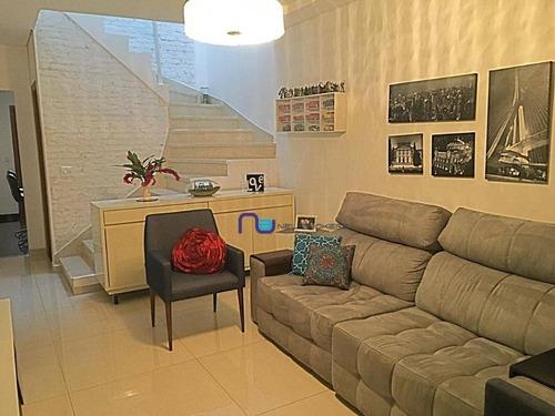Imagem 1 de 22 de Sobrado Com 3 Dormitórios À Venda, 130 M² Por R$ 720.000,00 - Vila Azevedo - São Paulo/sp - So1280