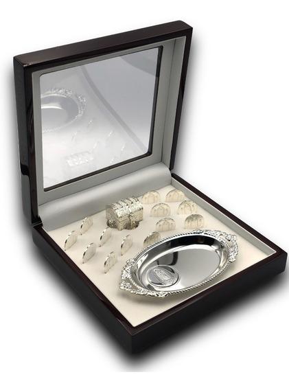 Arras Matrimoniales Plata Pura .999 Caoba Unity Coins