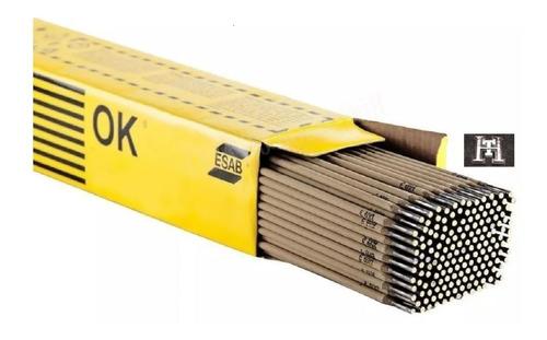 Imagen 1 de 7 de Electrodo Esab Ok 2,5 Mm X Caja 20 Kg 13a Punta Azul