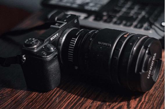 Sony Nex 6 + Lente Tamron 70-200