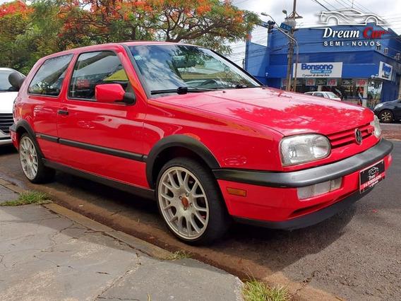 Volkswagen Golf Gti 2.0 Vermelho 1995