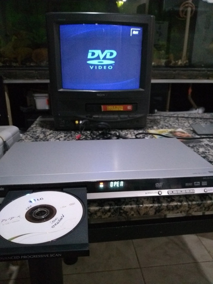 Dvd Panasonic Dvd-s29 Sem Controle