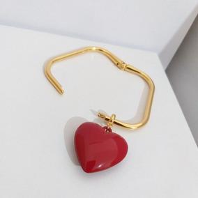 Pulseira Bracelete Coração Vermelho Sigvara