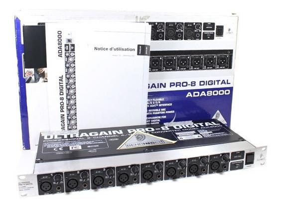 Pre Amplificador Behringer Ada800 (usado)