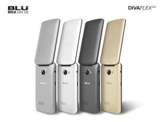 Celular Blu Diva Flex 2.4¨ Pantalla Grande -liberado-2 Sims.