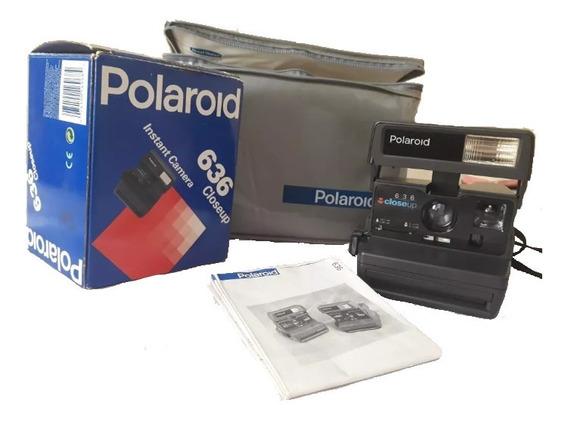 Máquina Fotográfica Câmera Polaroid 636 Close Up