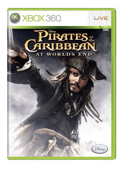 Pirates Of The Caribbean At Worlds End Xbox 360 Sem Caixinha