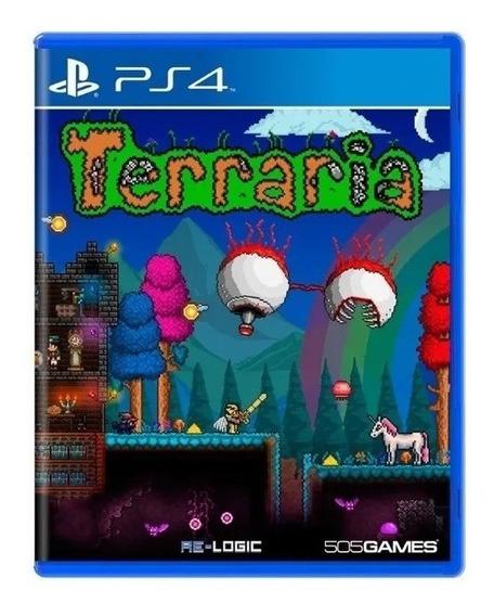 Terraria Para Playstation 4 - Ps4 - Mídia Física - Lacrado