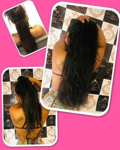 Imagem 1 de 5 de Mega Hair, Alongamento De Cabelo,todos Os Métodos ...