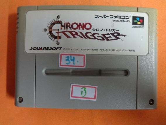 Chrono Trigger Original Famicom Snes B