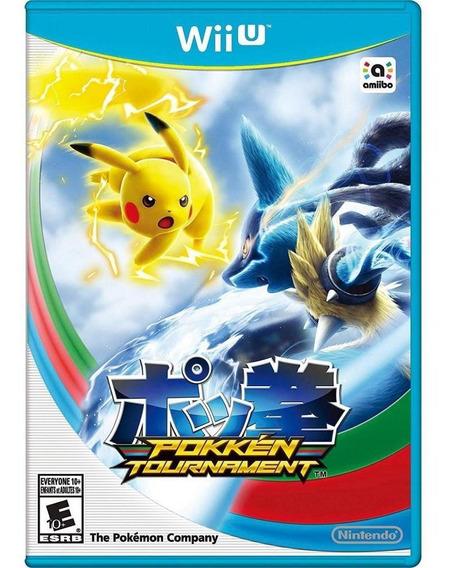 Seminovo Pokkén Tournament - Wii U Mídia Física
