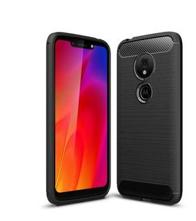 Capa Anti Impacto Motorola Moto G7 Play + Película De Vidro