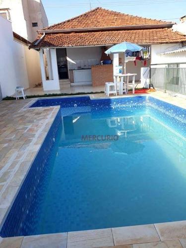 Casa Com 2 Dormitórios À Venda, 250 M² Por R$ 500.000,00 - Jardim Estoril - Bauru/sp - Ca3165