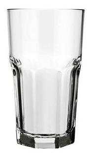 Set X 12 Vasos Fasetados Bristol 340 Ml Nadir - 2611/12