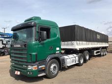 Conjunto Scania 124 400 Com Carreta Ls Librelato