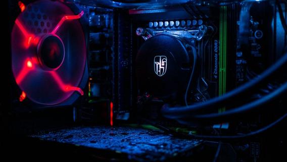 Workstation Xeon E5 2690 16gb Rtx 2060 Ssd Resfriamento Aguá