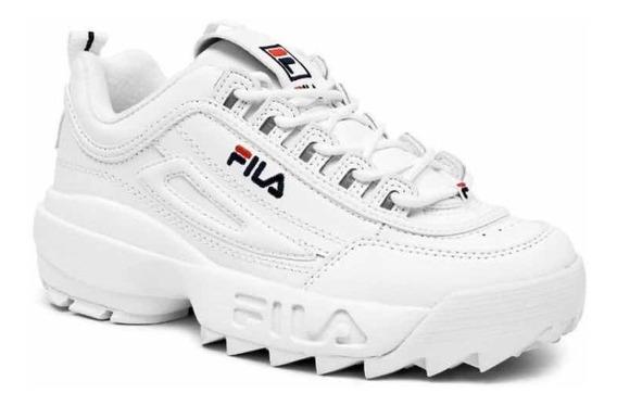 Tenis Fila Disruptor Blancos