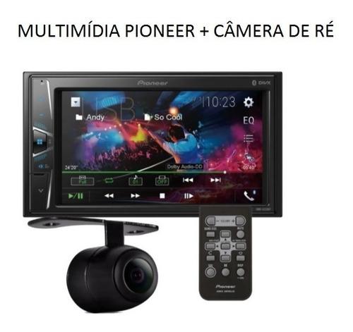Multimídia Pioneer Dmh-g228bt + Controle Remoto