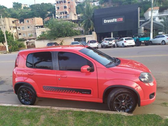 Fiat Uno Sporting 1.4 - 2013 - Vermelho