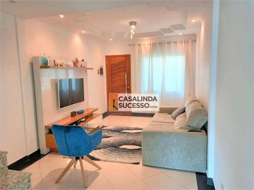 Sobrado Com 3 Dormitórios À Venda, 214 M² Por R$ 630.000,00 - Penha De França - São Paulo/sp - So1073
