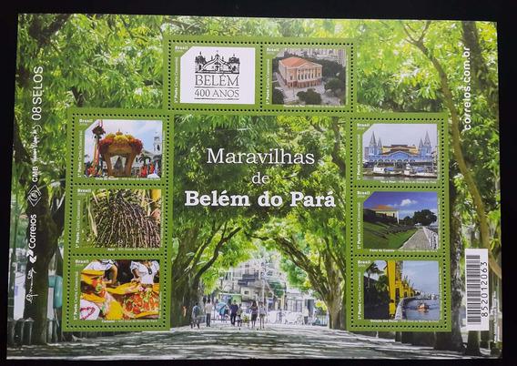 Brasil 2016 Folhinha 400 Anos De Belém. Mint