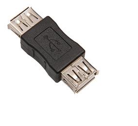 Adaptador Emenda Usb X Usb Femea Extensor Conector