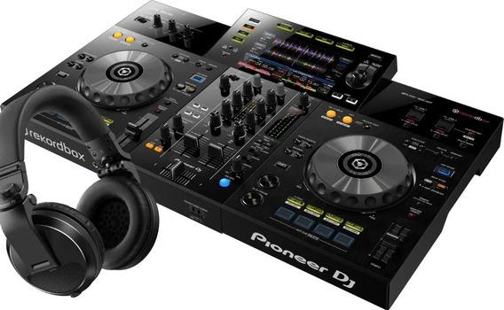 Controladora Pioneer Xdj Rr Rekordbox + Fone Hdj X5 Black