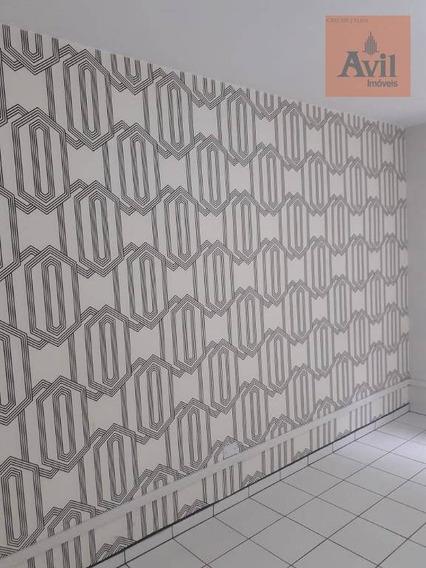Sala Para Alugar, 45 M² Por R$ 1.300,00/mês - Vila Gomes Cardim - São Paulo/sp - Sa0114