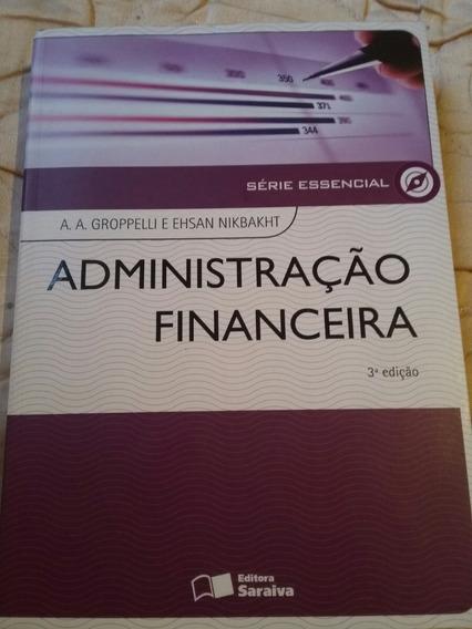 Livro Administração Financeira Faculdade Administração