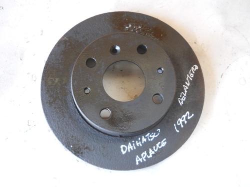 Imagen 1 de 3 de Vendo Disco Delantero De Freno De Daihatsu Aplauce Año 1992