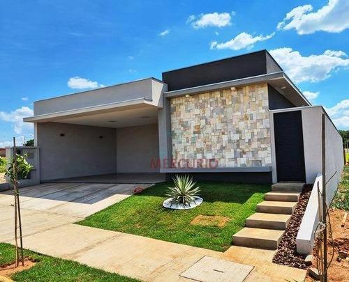 Casa Com 3 Dormitórios À Venda, 170 M² Por R$ 990.000,00 - Villa De León - Piratininga/sp - Ca3219