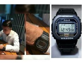 5 Relógios Masculinos Bolsonaro Digital Aqua Gp 519 Oferta
