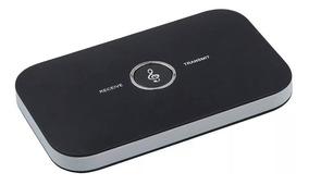 Kit Transmissor E Receptor De Áudio 2 Em 1 Bluetooth