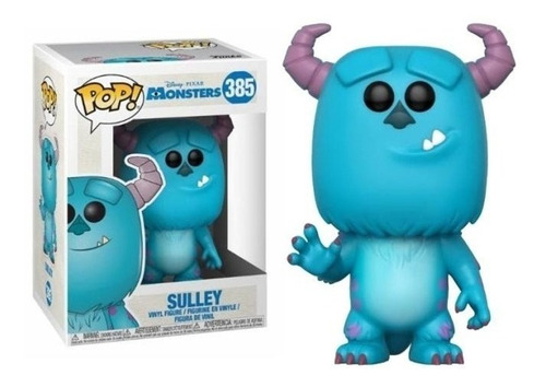 Muñeco Funko Pop Disney Pixar Monsters Inc - Sulley #385 V