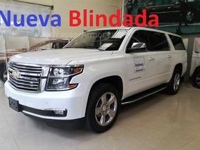 Chevrolet Suburban Premier Piel 4x4 Blindada Niver 3 B4 New