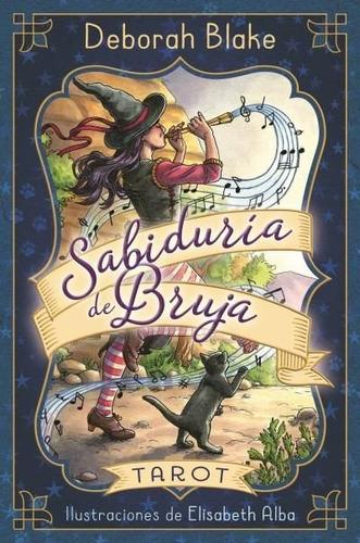 Tarot Sabiduria De Bruja - Libro + Cartas - Deborah Blake