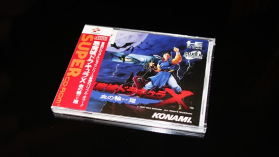 Castlevania Rondo Of Blood(pce Works Da Alemanha)--lacrado
