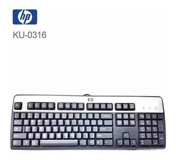 Teclado Hp Ku-0316 Usb (usado)