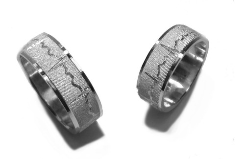 Argollas Matrimonio En Plata + Obsequio Anillo Plata